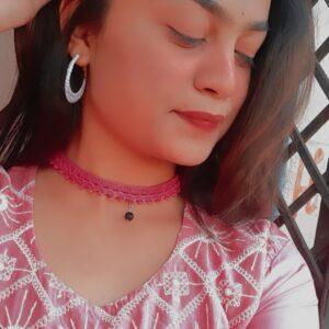 Handmade Crochet Choker made in India by Kakoli Roy