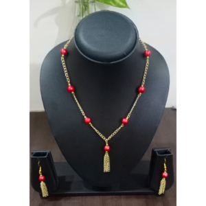 Handmade Beads Necklace made in India by Kakoli Roy